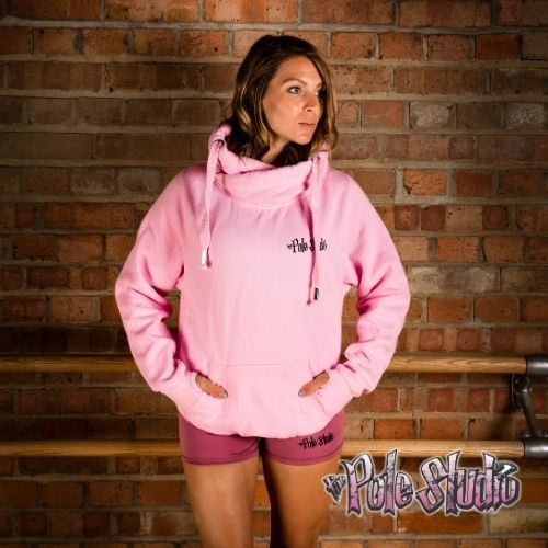 The Pole Studio Snuggly Hoodie Pink