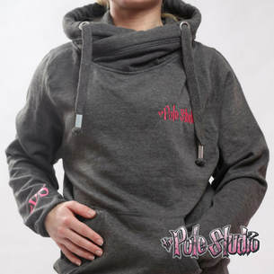 ​The Pole Studio pullover hoodie Grey