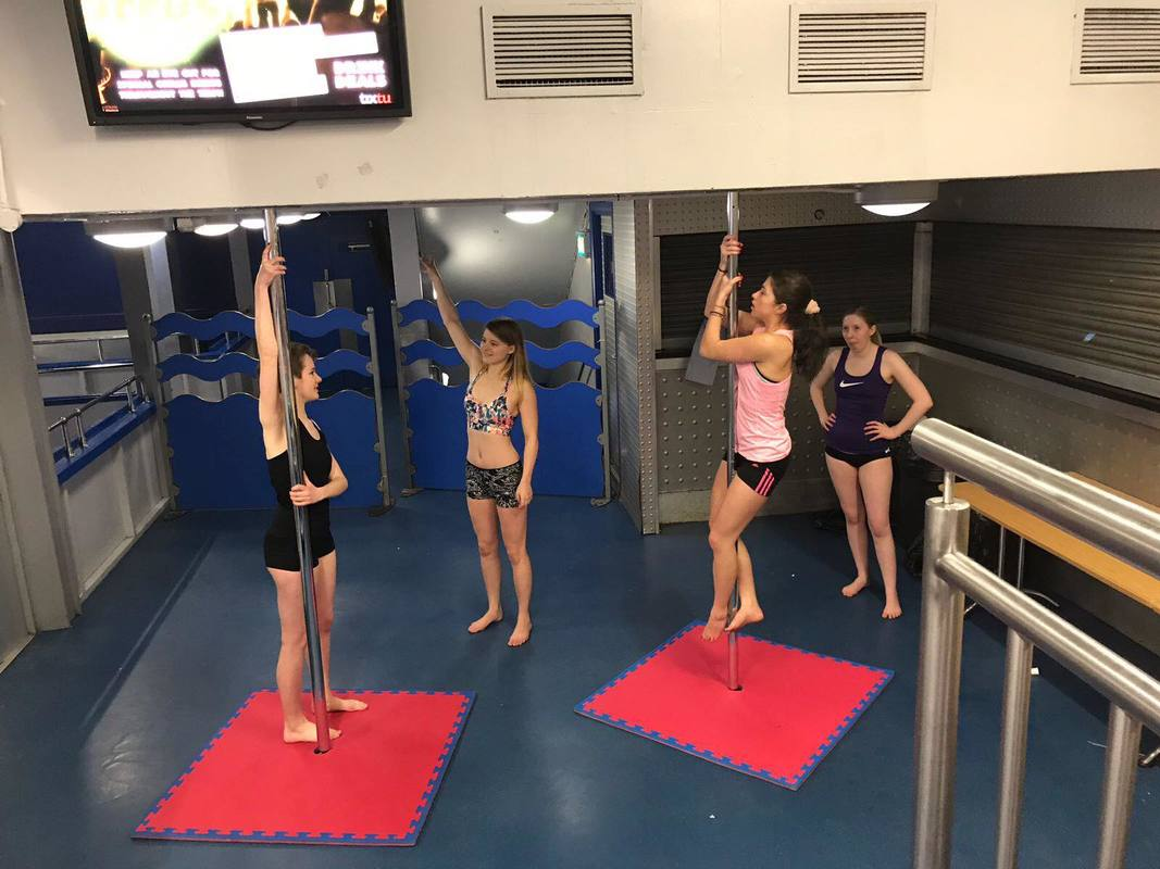 Learn Pole Fitness with The Pole Studio at Universities